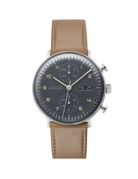 JUNGHANS MAX BILL CHRONOSCOPE Ref. Nr. 027/4501.00