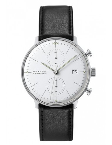 JUNGHANS MAX BILL CHRONOSCOPE Ref. Nr. 027/4600.00