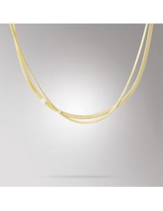 Marco Bicego Masai collana oro giallo e bianco CG732-B