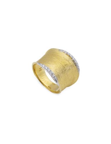 Marco Bicego Lunaria Diamanti Anello in oro giallo ref: AB551-B