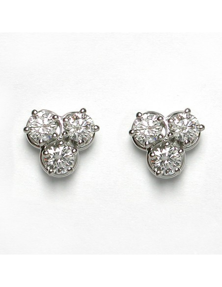 DAMIANI MINOU orecchini in oro bianco e diamanti 20013451