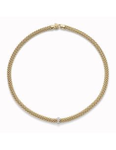 Fope Collana Flex'It Vendome in oro Giallo e diamanti ref 560C-BBR