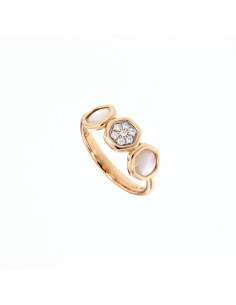 UTOPIA VENUS pink gold ring...