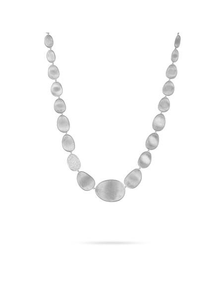 Marco Bicego Lunaria Diamanti Collana in oro bianco ref CB1975-B