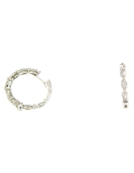 DAMIANI EMOZIONI orecchini in oro e diamanti - 20069287