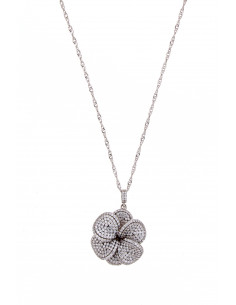 Misis Flora Rhodium Silver...