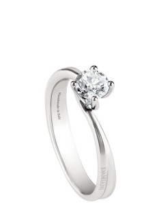 DAMIANI BEAUTY ANELLO IN PLATINO 0.30 ct