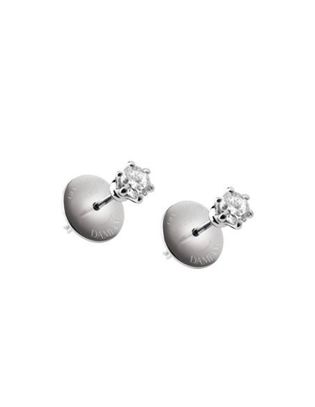 DAMIANI ELETTRA orecchini in oro bianco e diamanti 0.60 ct