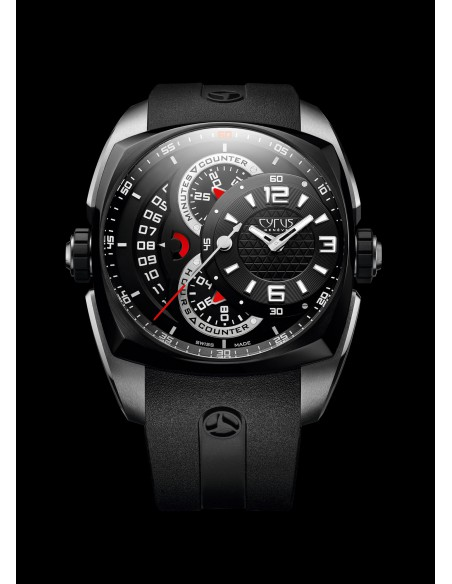 Cyrus Klepcys Chronograph Steel & DCL 539.501.SD.A Limited Edition N°057/100