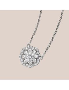 Crivelli Collezione Sposa Collana in oro e diamanti 000-3910NS