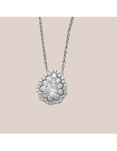 Crivelli Collezione Sposa Collana in oro e diamanti 000-4009NS