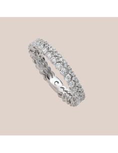 Crivelli Collezione Sposa Anello in oro e diamanti 000-3934NS
