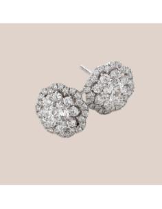 Crivelli Collezione Sposa Orecchini in oro e diamanti 000-3909NS