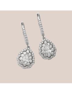 Crivelli Collezione Sposa Orecchini in oro e diamanti 000-4010NS