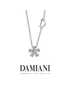 Damiani FIORELLINO collana in oro bianco e diamanti Ref. 20075401