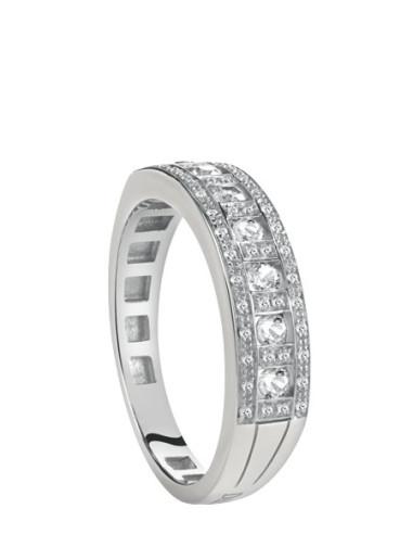 DAMIANI Belle Epoque anello in oro bianco con diamanti Ref. 20059733