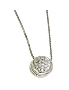 Damiani CLASSIC collana in oro bianco e diamanti Ref. DDB29210
