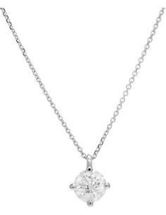 Diamond Invest collezione Grace collana oro bianco e diamante ct. 0.41