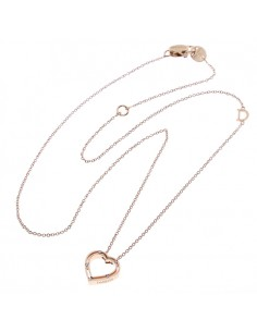 DAMIANI D-Side Collana in oro rosa e diamanti Ref. 20076846