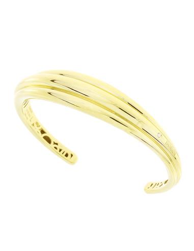 DAMIANI SPICCHI DI LUNA bracciale in oro giallo 18kt e diamante 20077794