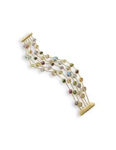 Marco Bicego Jaipur bracciale in oro giallo ref: BB1307-MIX01