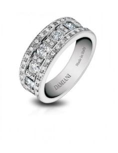 DAMIANI Belle Epoque anello in oro bianco con diamanti Ref. 20000838