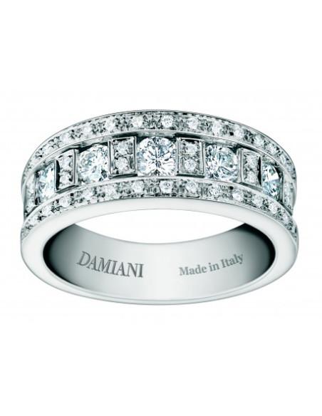 Belle Ref20000838 Anello Oro Diamanti In Epoque Bianco Con Damiani vmN80wn