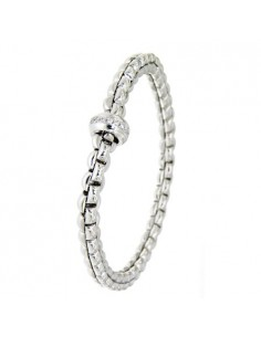 Fope Bracciale Flex'It Olly in oro Bianco e diamanti ref 721B-BBR