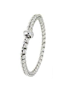 Fope Bracciale Flex'It Olly in oro Bianco e diamanti ref 721B-BBR