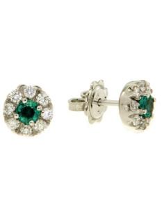 Crivelli Collezione Smeraldi Orecchini in oro, diamanti e smeraldo 117-OR330