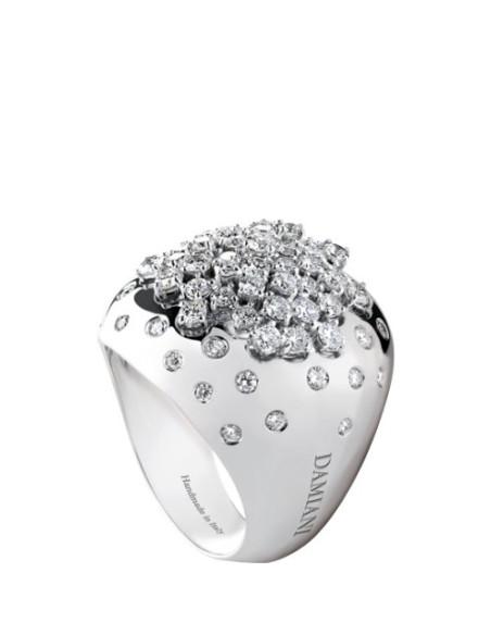 Damiani Paradise Anello in oro bianco e diamanti (ct1.17) ref 20036994