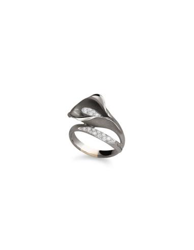 procédés de teinture minutieux meilleur choix classcic ANNAMARIA CAMMILLI CALLA anello oro e diamanti Ref: GAN0233