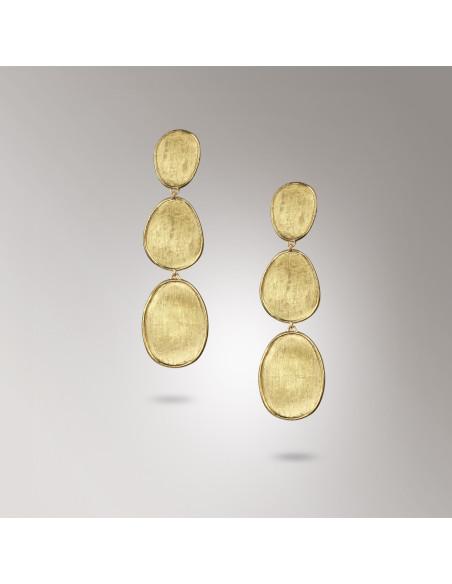 Marco Bicego Lunaria Orecchini in oro giallo ref: OB1349
