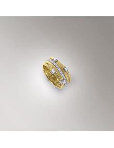 Marco Bicego Goa Anello oro giallo e diamanti ref: AG270-B2