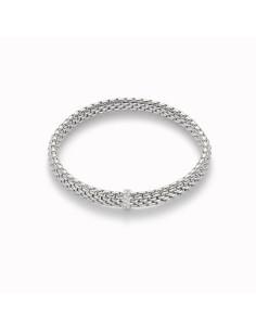 Fope Bracciale Flex'It Vendôme in oro Bianco e diamanti ref 560B-BBR