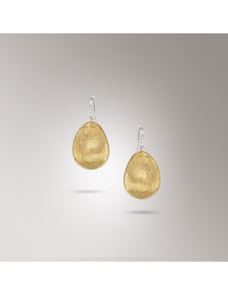 Marco Bicego Lunaria Diamanti Orecchini in oro giallo ref: OB1343-A B1