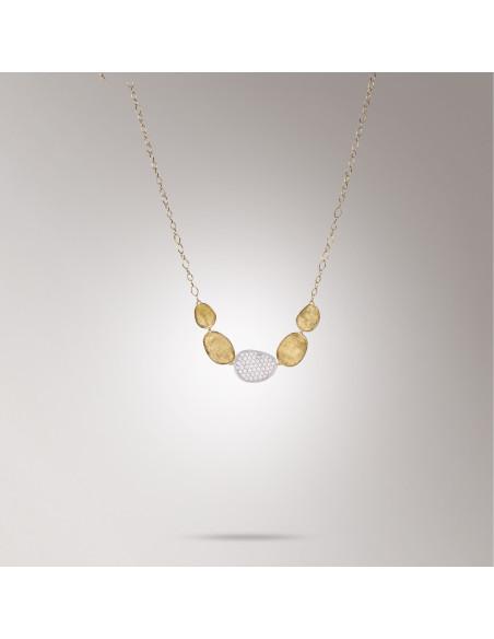 Marco Bicego Lunaria Diamanti Collana in oro giallo ref: CB1974-B