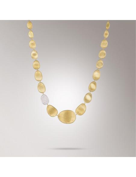 Marco Bicego Lunaria Diamanti Collana in oro giallo ref: CB1975-B