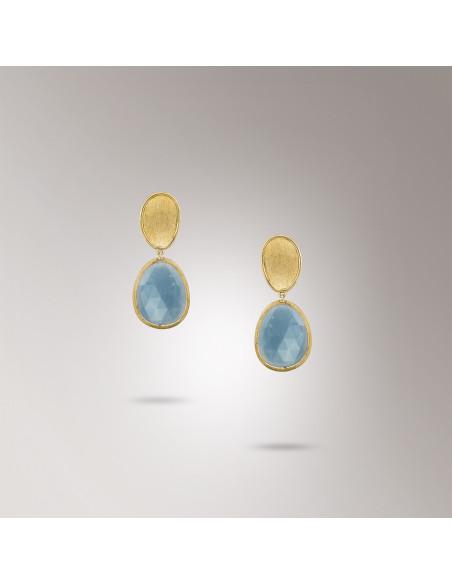 Marco Bicego Lunaria Orecchini in oro giallo ref: OB1436-AQD