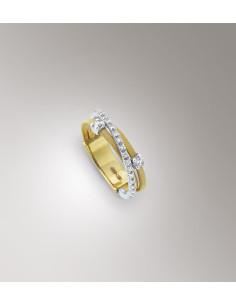 Marco Bicego Goa Anello oro giallo e diamanti ref: AG269-B2
