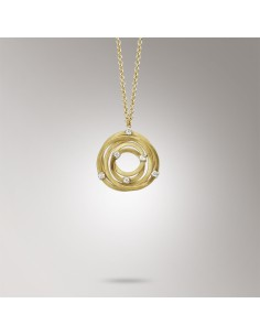Marco Bicego Goa Collana oro giallo e diamanti ref: CG677-B