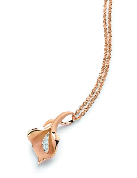 ANNAMARIA CAMMILLI CALLA collana oro e diamanti Ref: GPE0197J